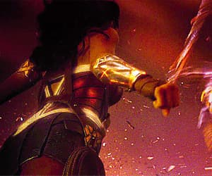 DC, gif, and wonder woman image