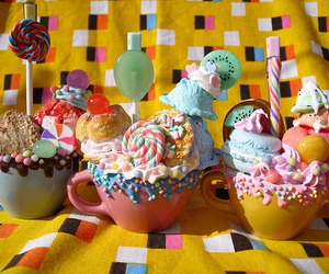 candy, sweet, and ice cream image