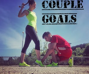 couple, motivation, and fitness image