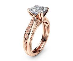 etsy, princessring, and diamond alternative image