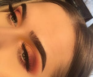 makeup, eyes, and fashion image