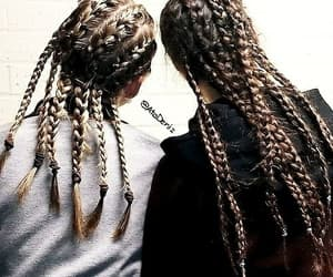 bff, friends, and braids image
