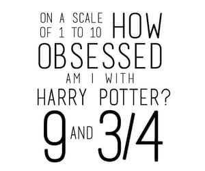 harry potter, quotes, and obsessed image