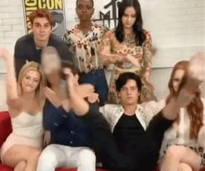 gif, cole sprouse, and lili reinhart image