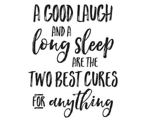 cure, words, and laugh image