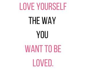 positivity, self love, and valentine image