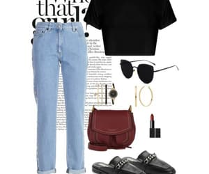 black, ootd, and outfit image
