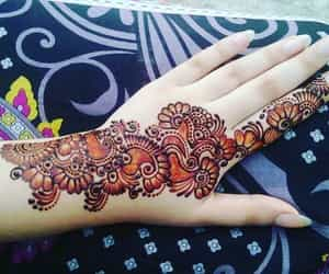 Mehndi Hands Mehndi : Images about mehndi hands😘✋👍💜 on we heart it see more