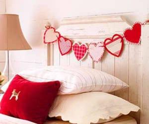 decor, valentine's, and hearts image