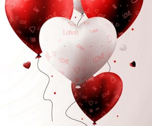 balloons, hearts, and 💕 image