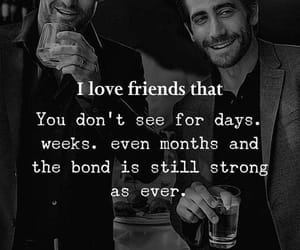 bond, friendship, and friends image