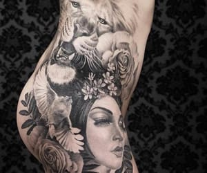 art, expressive, and inked image