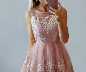 party dress, short dress, and homecoming dress image