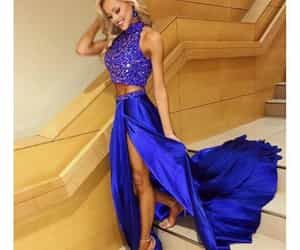 prom dress, style, and 2 pieces image