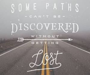arrow, discover, and quote image