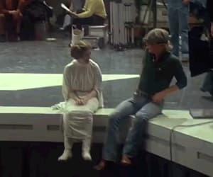 carrie fisher, gif, and Princess Leia image
