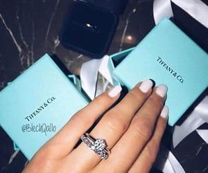 tiffany, diamond, and nails image