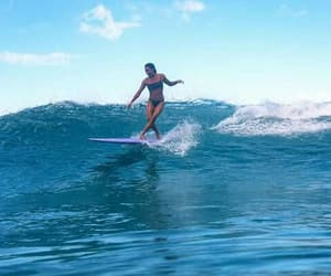adventure, surfing, and beach image