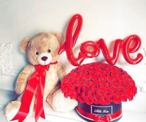 love, boyfriend, and flowers image