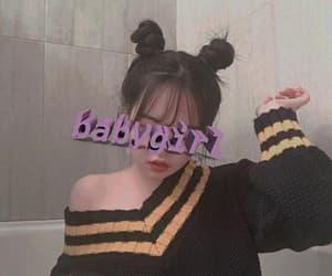 icons, korean, and theme image