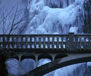 winter, bravo, and bridge image