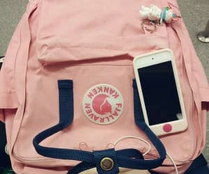 pink, kanken, and cute image