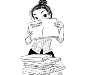 books, comics, and draw image