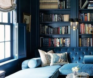 blue and home image