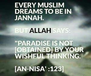 quran, verse, and surah nisa image