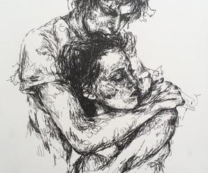couple and art image