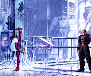 gif, King of Fighters, and kof image