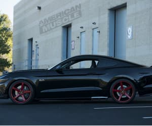ford, mustang, and modified image