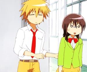 anime, gif, and kaichou wa maid-sama image