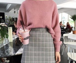 fashion, grey, and look image