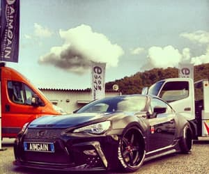 sports car, Toyota, and widebody image