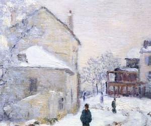 art, wallpaper, and winter image