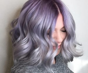 cheveux, court, and grey image
