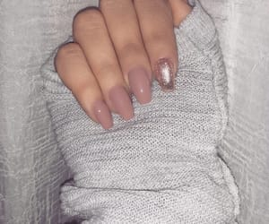 glitter, nails, and goals image