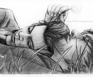 fanart, gay, and larry stylinson image