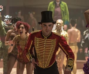 zac efron, the greatest showman, and phillip carlyle image