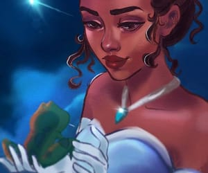 disney, disney princess, and princess and the frog image