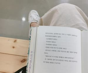aesthetic, book, and korean image