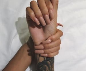 nails, tattoo, and Nude image