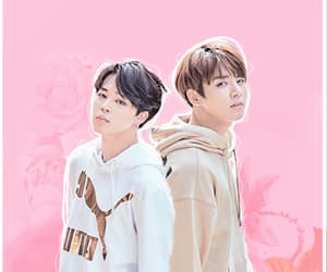 pink, bts, and wallpaper image