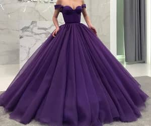 dress, Prom, and purple image