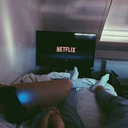 couple, netflix, and love image
