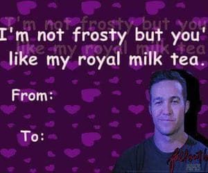 card, fall out boy, and pete wentz image