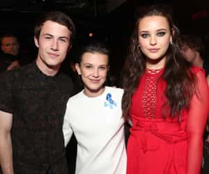 13 reasons why, stranger things, and dylan minnette image