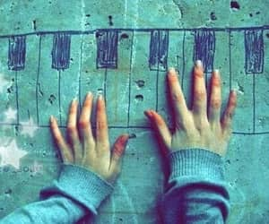 piano, music, and Dream image