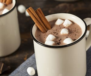 Cinnamon, marshmallows, and sweet image